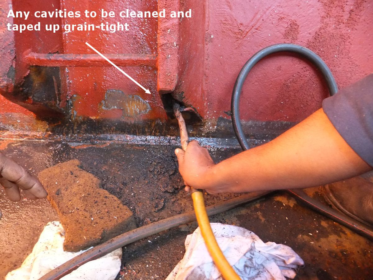clean hidden areas properly