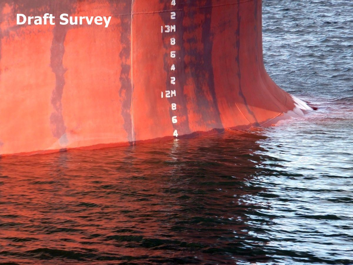 Load and Discharge Draft Survey